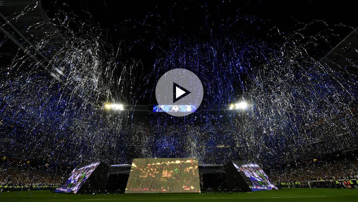 El Bernabéu celebra la Undécima. (EFE)