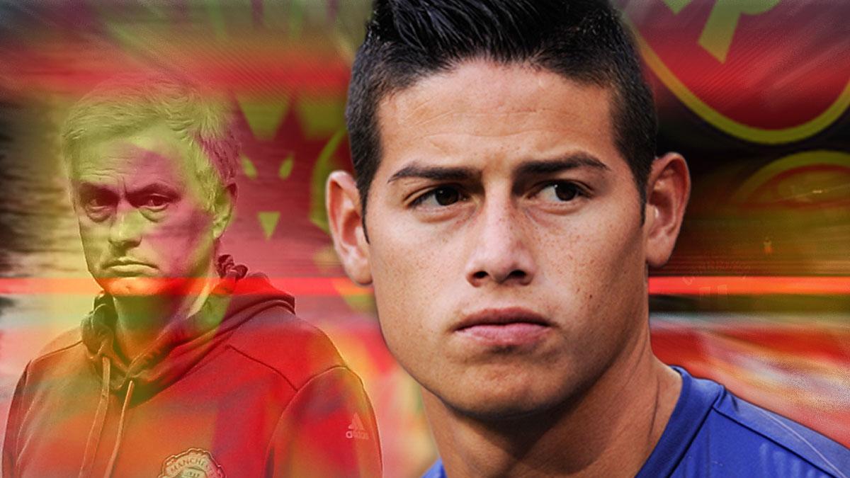 James Rodríguez es un objetivo prioritario para Jose Mourinho.