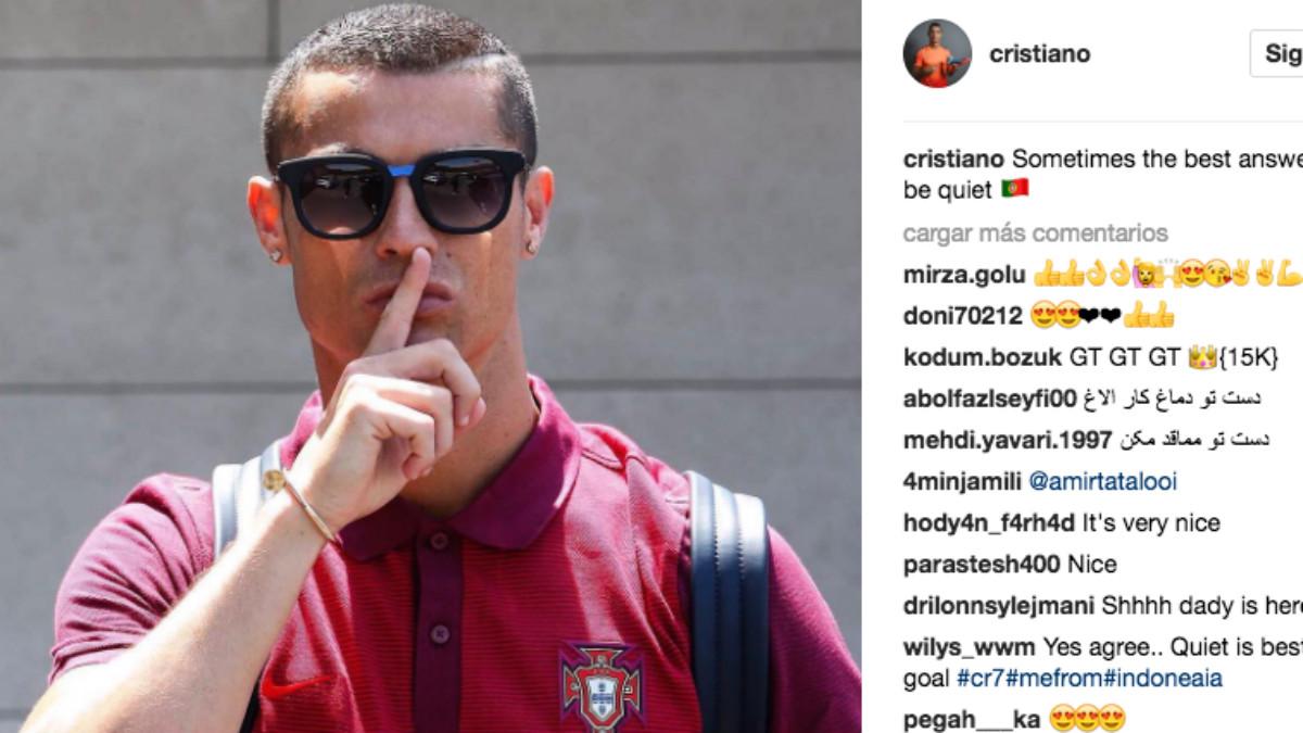 Cristiano Ronaldo gana 400.000 euros por cada foto que sube a Instagram.