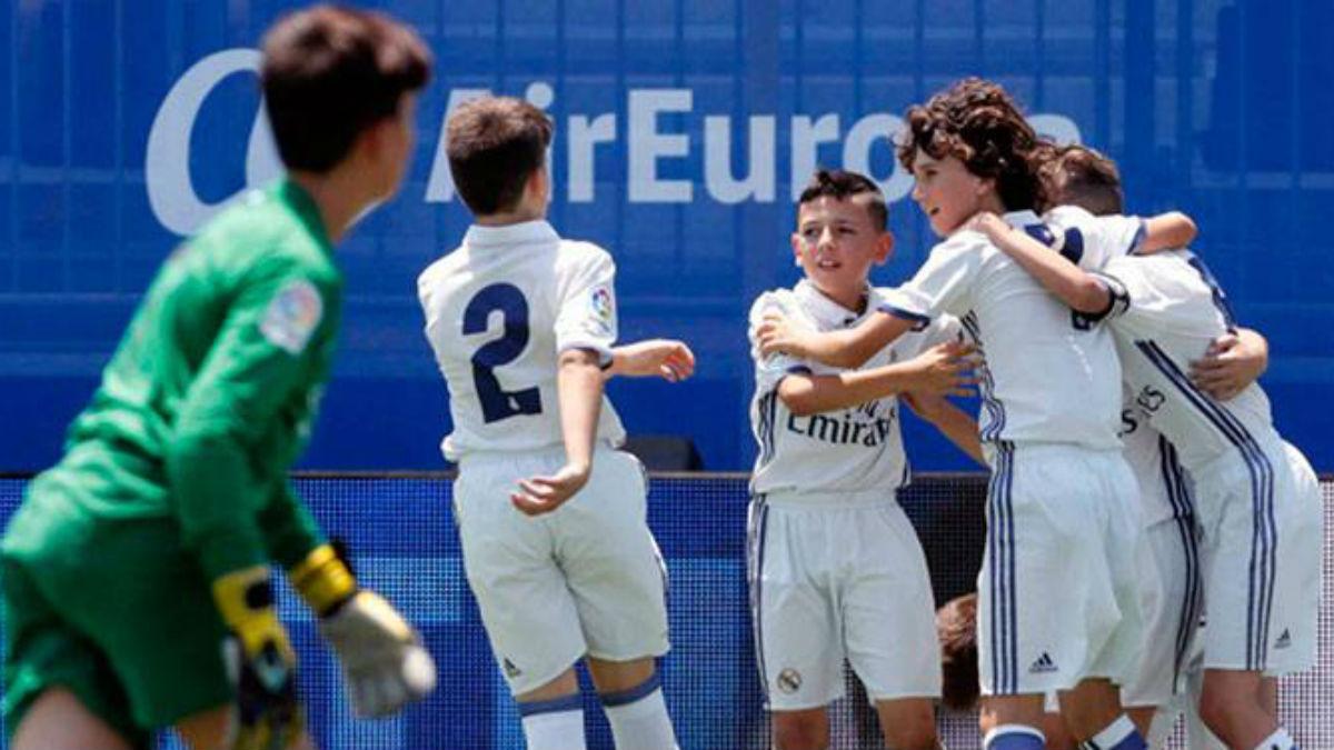 El Alevín A del Real Madrid alcanza las semifinales de la Liga Promises. (Realmadrid.com)