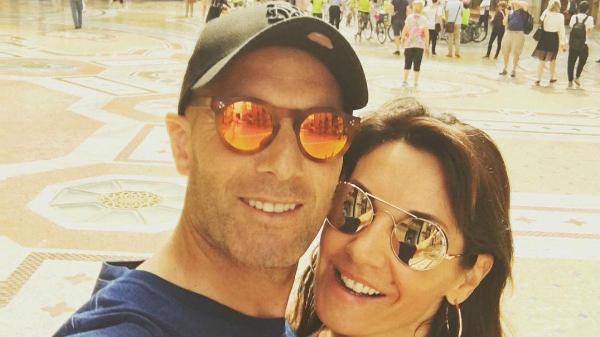 Zinedine Zidane disfruta de las vacaciones en Italia junto a su mujer. (Instagram)