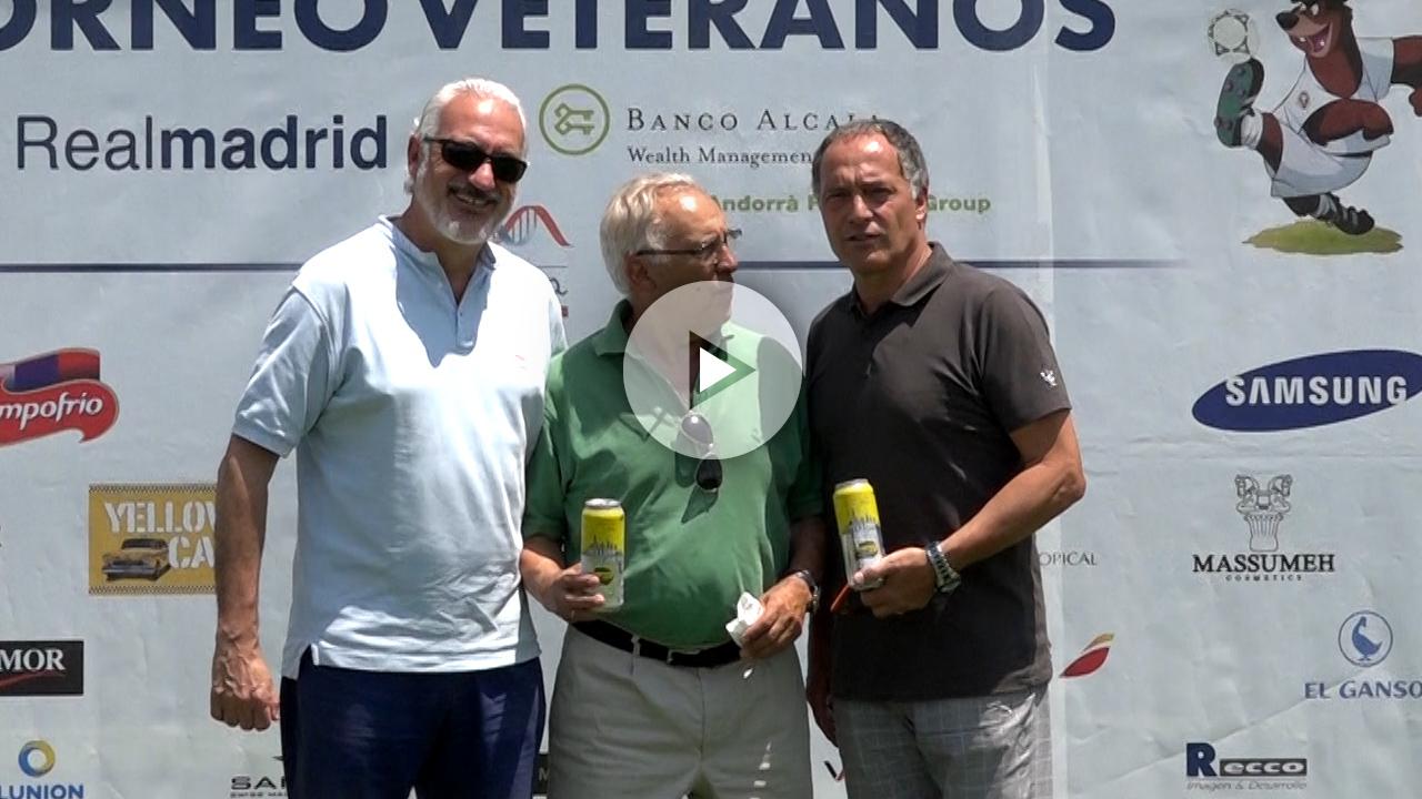 Los veteranos del Real Madrid se unen contra las enfermedades raras.