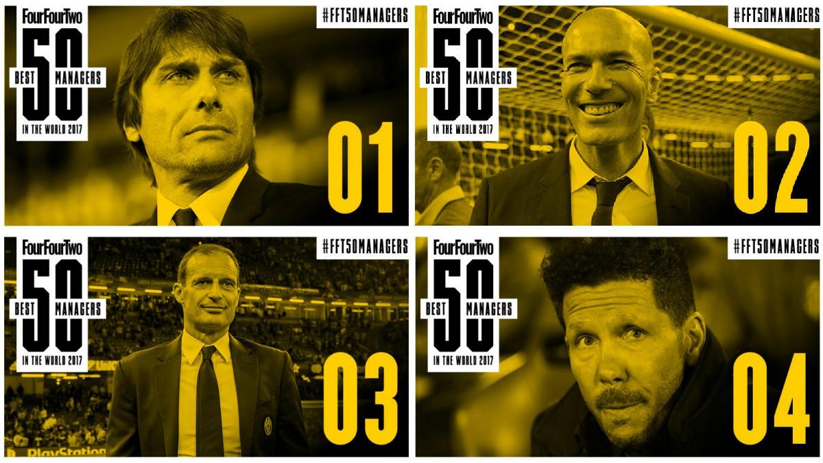 Los premios a mejor entrenador Four Four Two