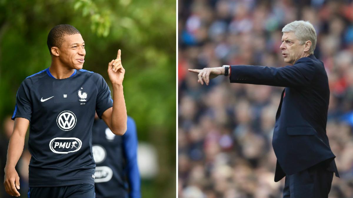 Wenger se olvida de Mbappé. (AFP / Getty)