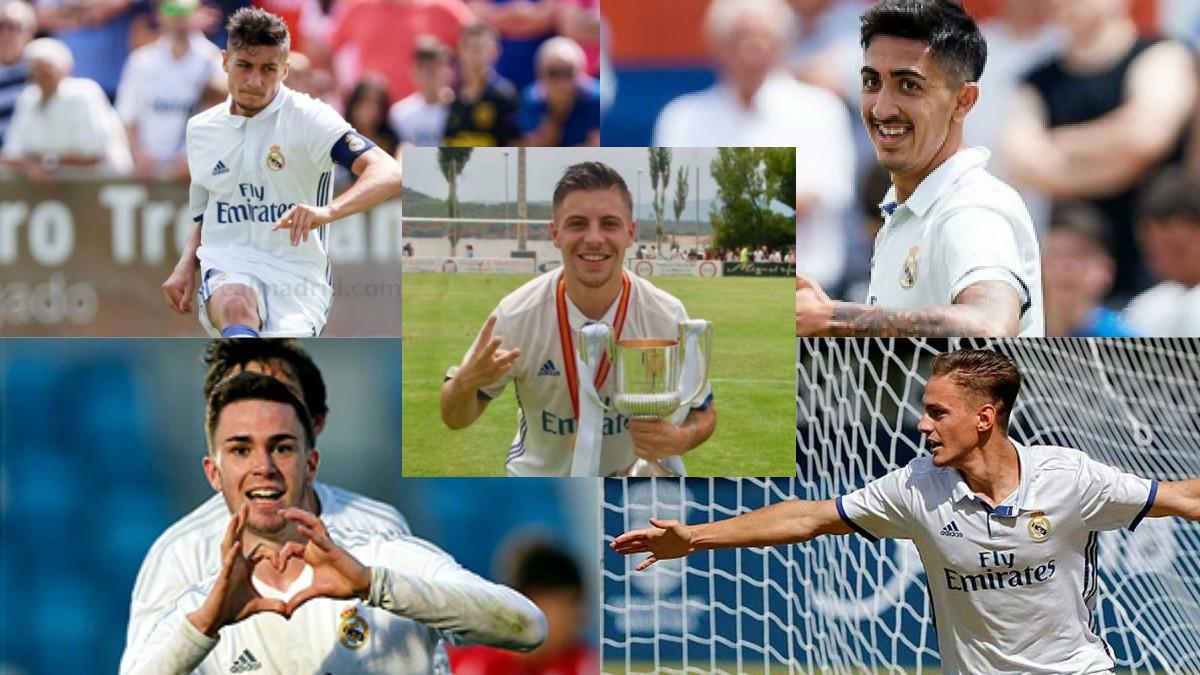 Cinco jugadores del Juvenil A harán la pretemporada con el Real Madrid.