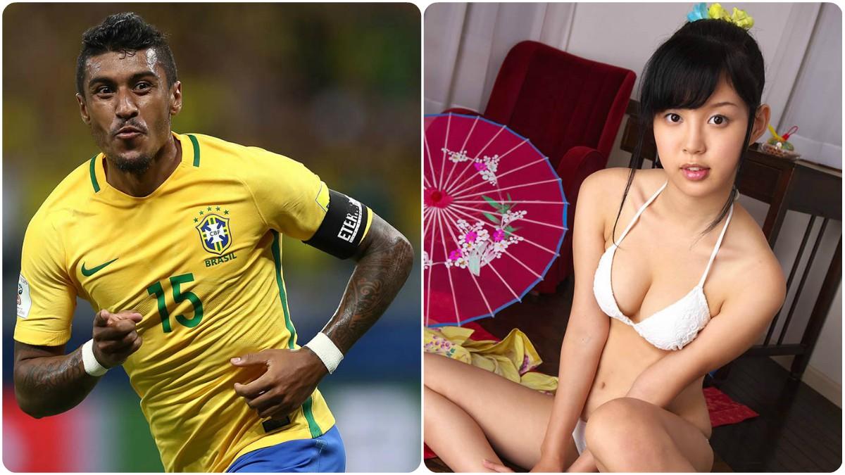 Actrices Porno Japonesas Del Momento paulinho, el nuevo fichaje de neymar, la lía por promocionar