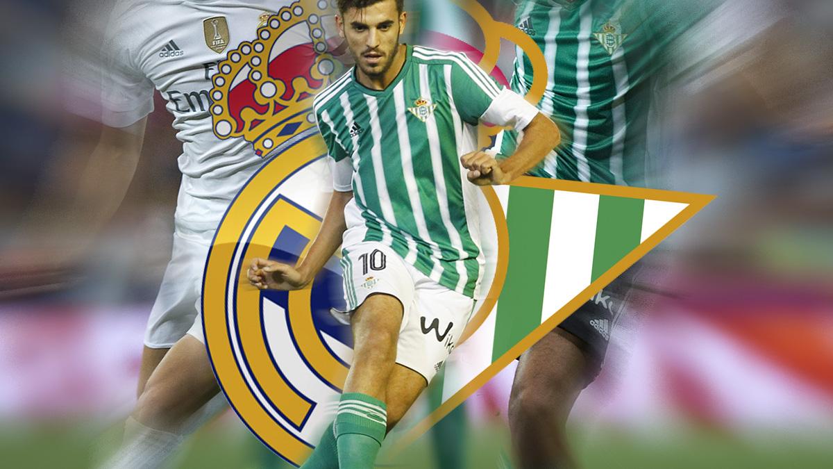 Principio de acuerdo entre el Real Madrid y el Betis por Ceballos