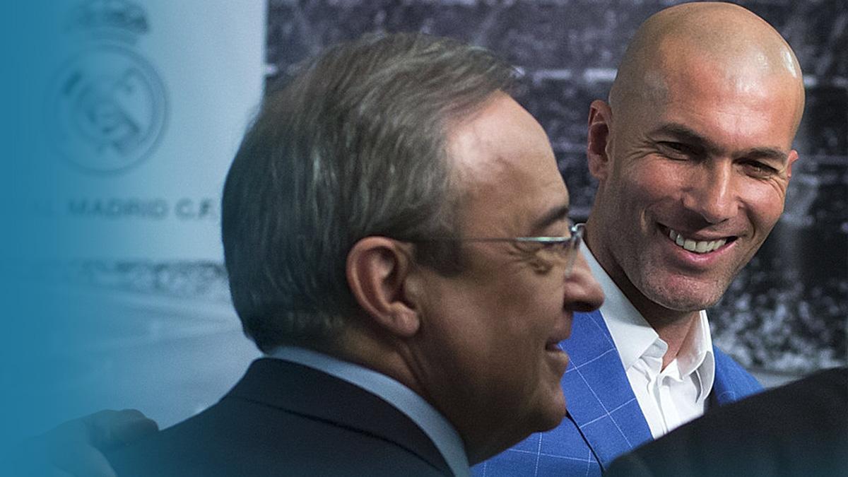 Zidane, renovación galáctica