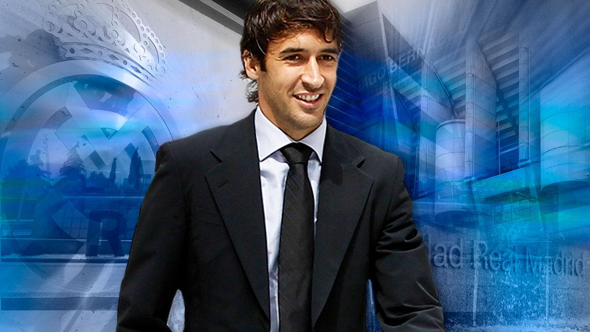 Raúl González tendrá un papel similar al de Zidane antes de ser entrenador del Real Madrid.