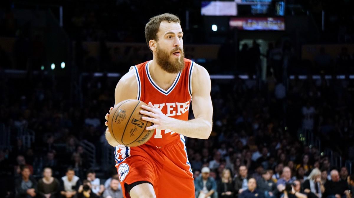 Sergio Rodríguez, en un partido en la NBA. (Getty)