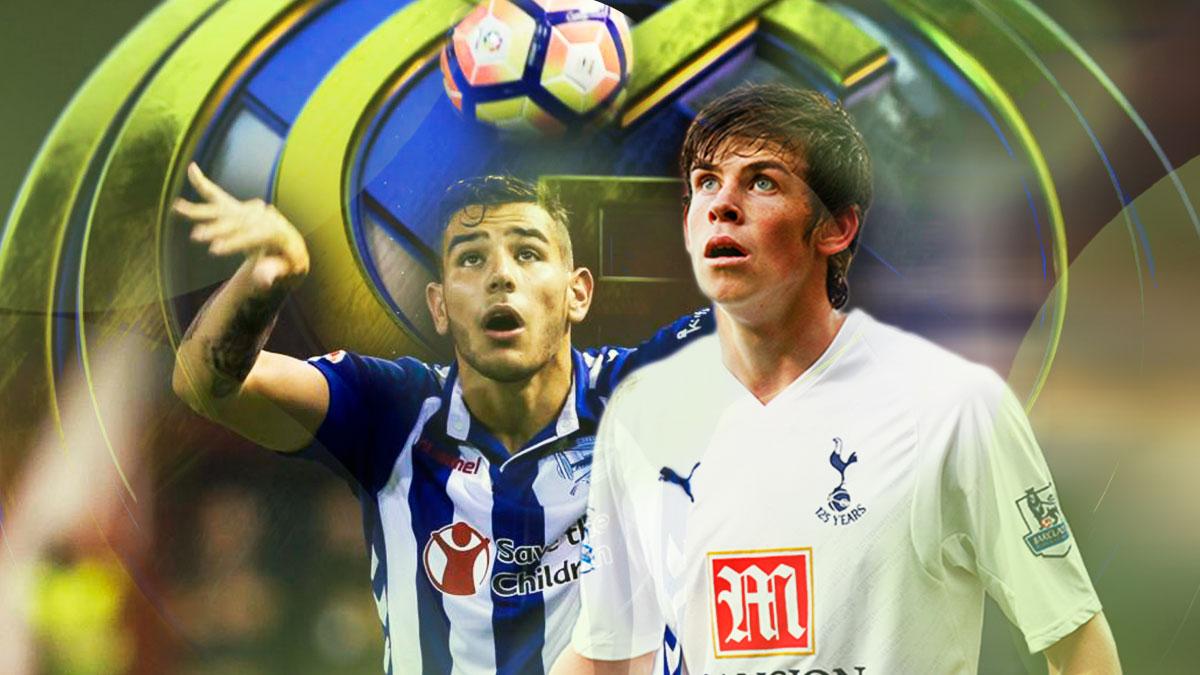Theo Hernández sigue los pasos del joven Gareth Bale.