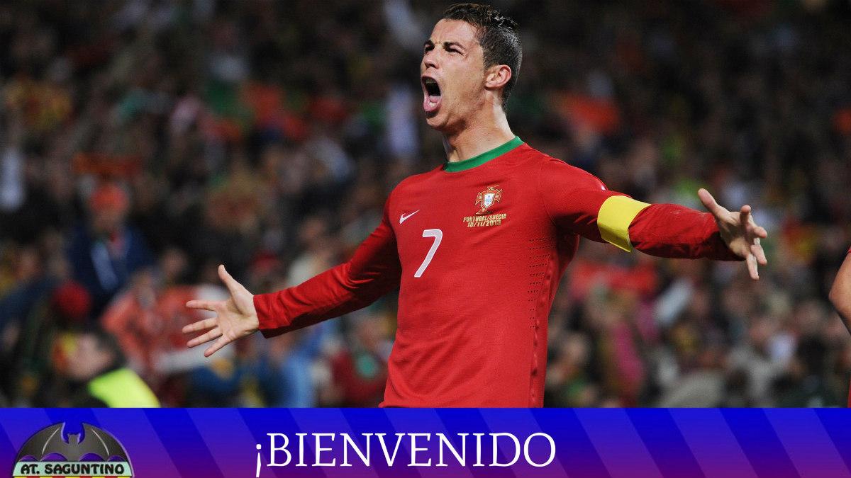 El Saguntino anuncia la llegada de Cristiano Ronaldo.