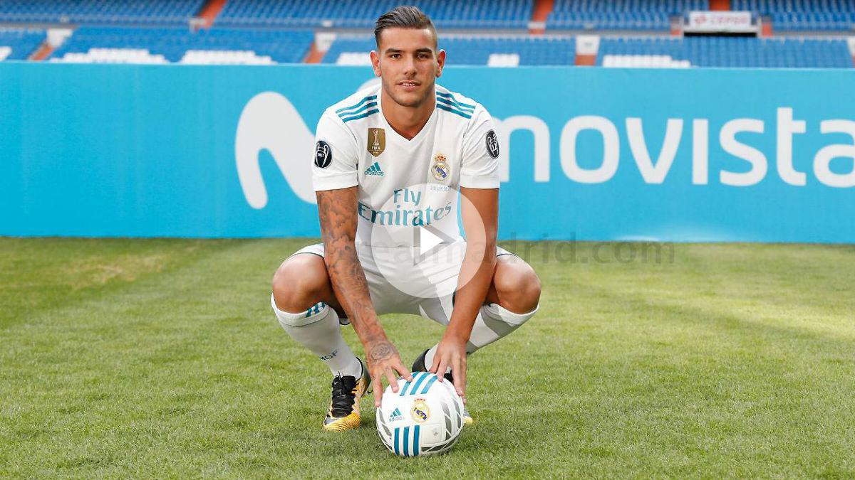 Theo ya sabe lo que es pisar el Bernabéu como madridista