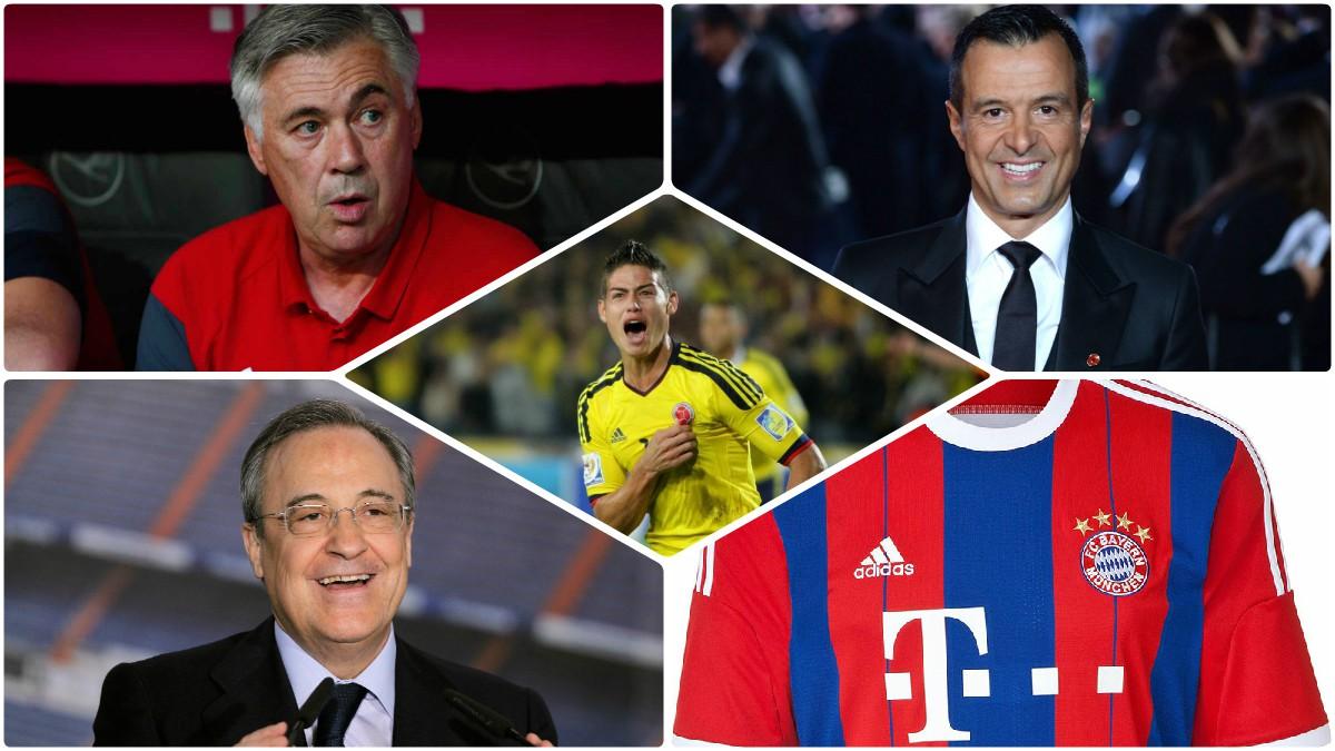 Todos han terminado muy contentos por la salida de James al Bayern.