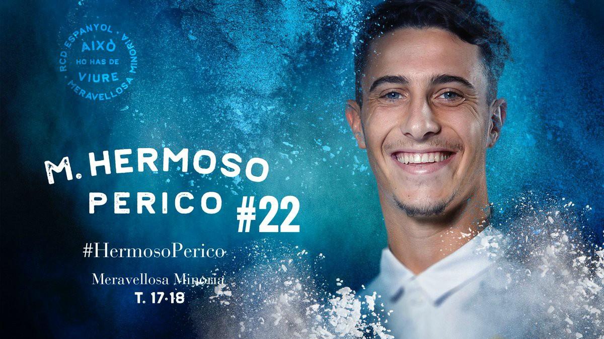 Mario Hermoso, nuevo jugador del Espanyol.