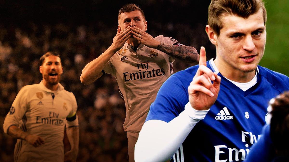Toni Kroos es indiscutible e innegociable para el Real Madrid.