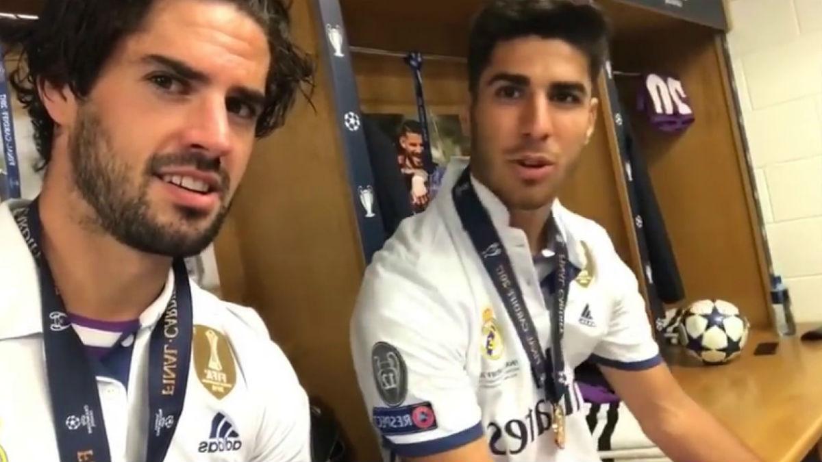 Isco y Asensio, el 'bro' y el 'picha'.