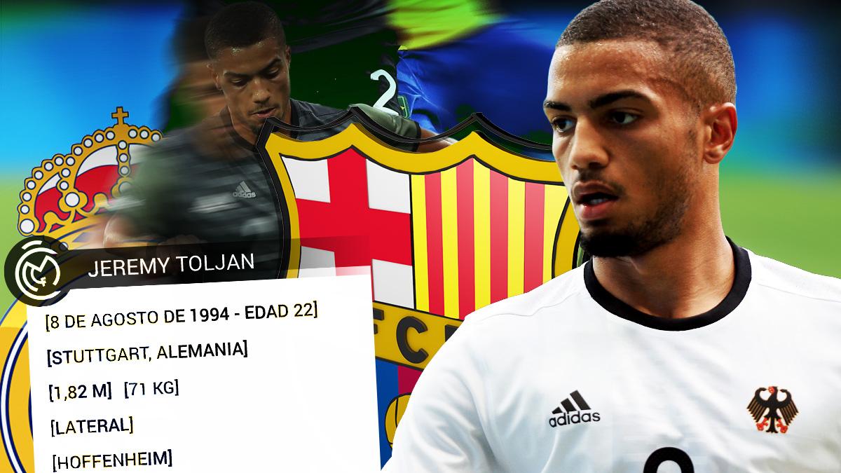 Real Madrid y Barcelona siguen a Toljan