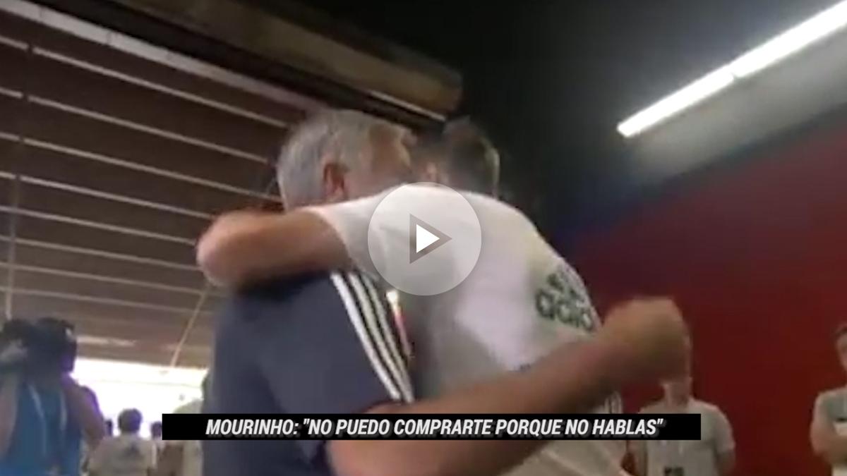 Mourinho le hizo una confesión a Bale.