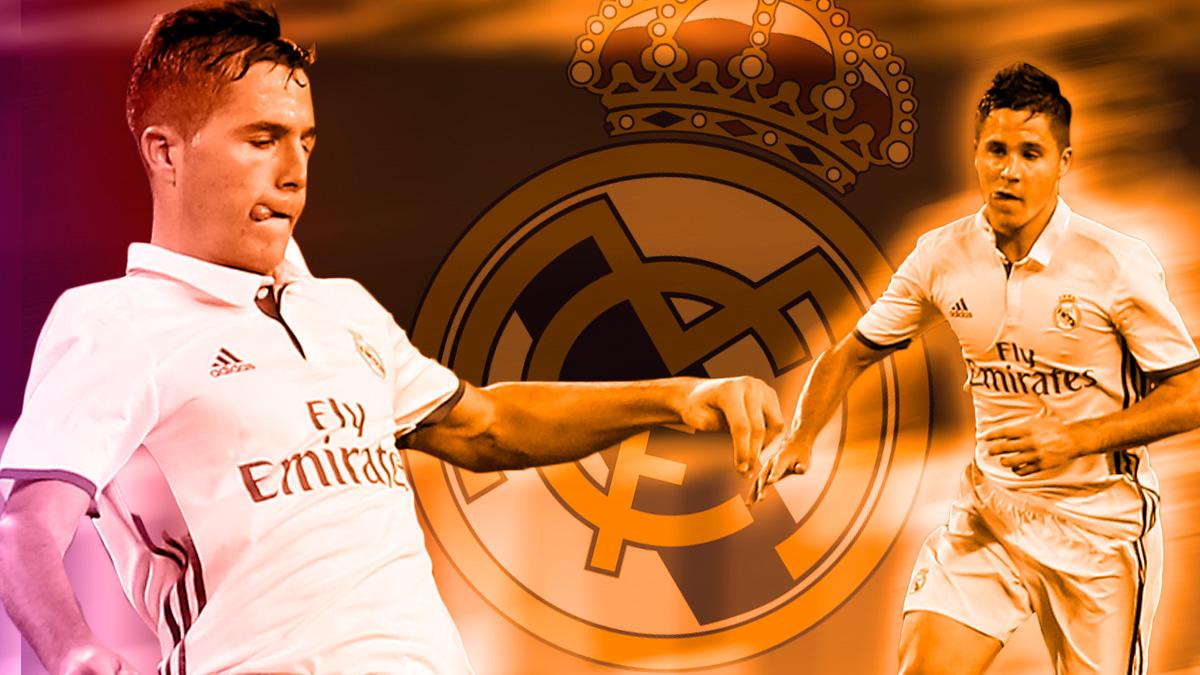 Tejero tiene a su favor la polivalencia para ocupar cualquier puesto de la defensa del Real Madrid.