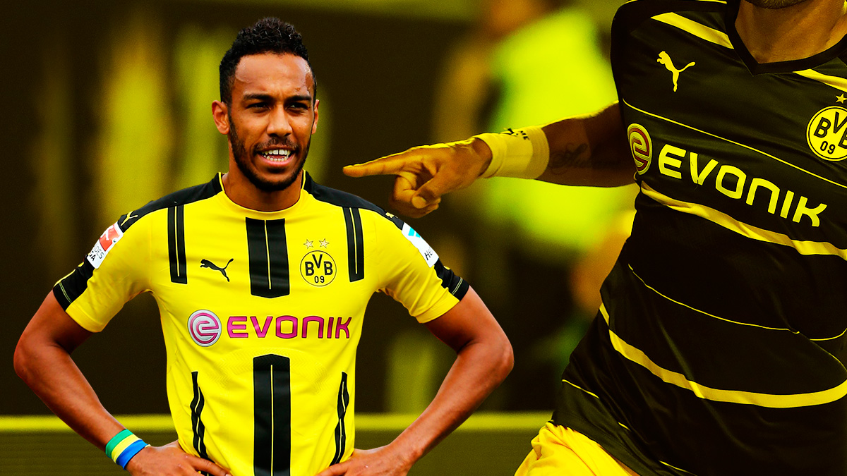 Aubameyang sigue buscando una salida del Borussia de Dormund.