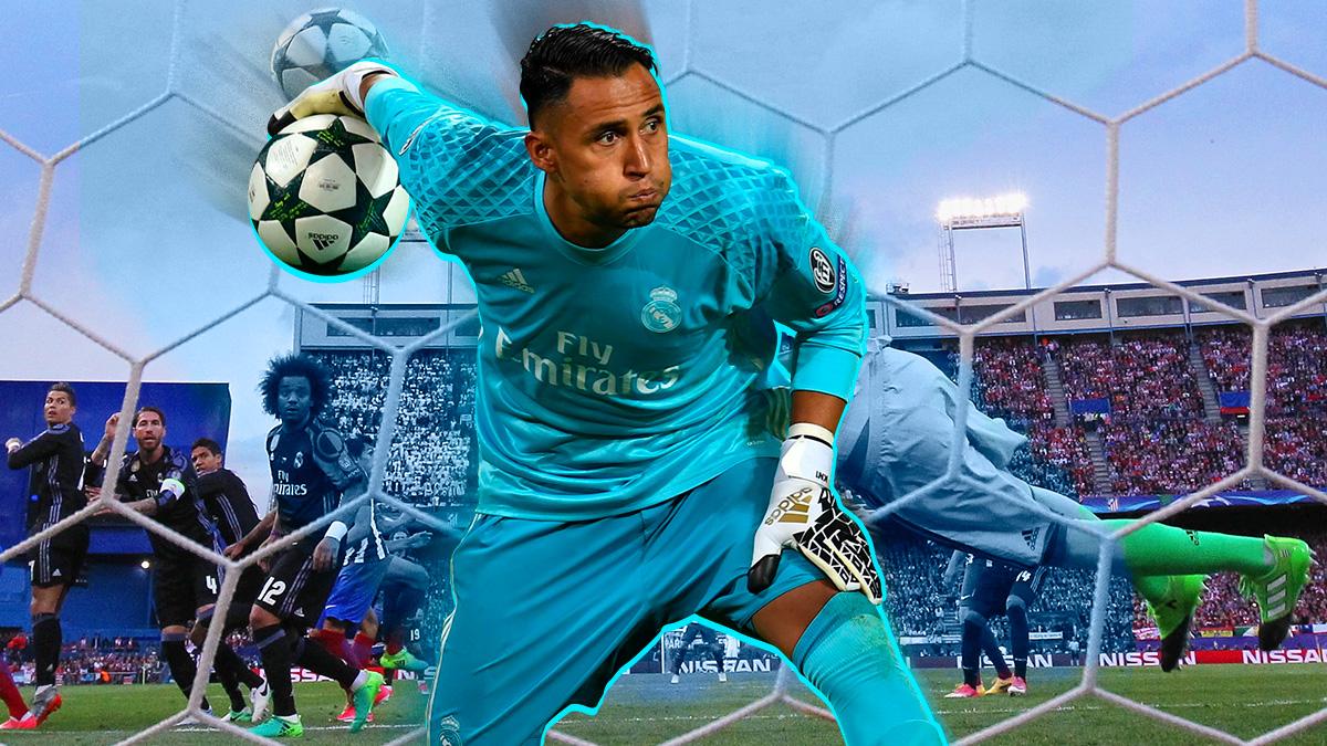 Keylor Navas está siendo de las mejores noticias de la pretemporada del Real Madrid.