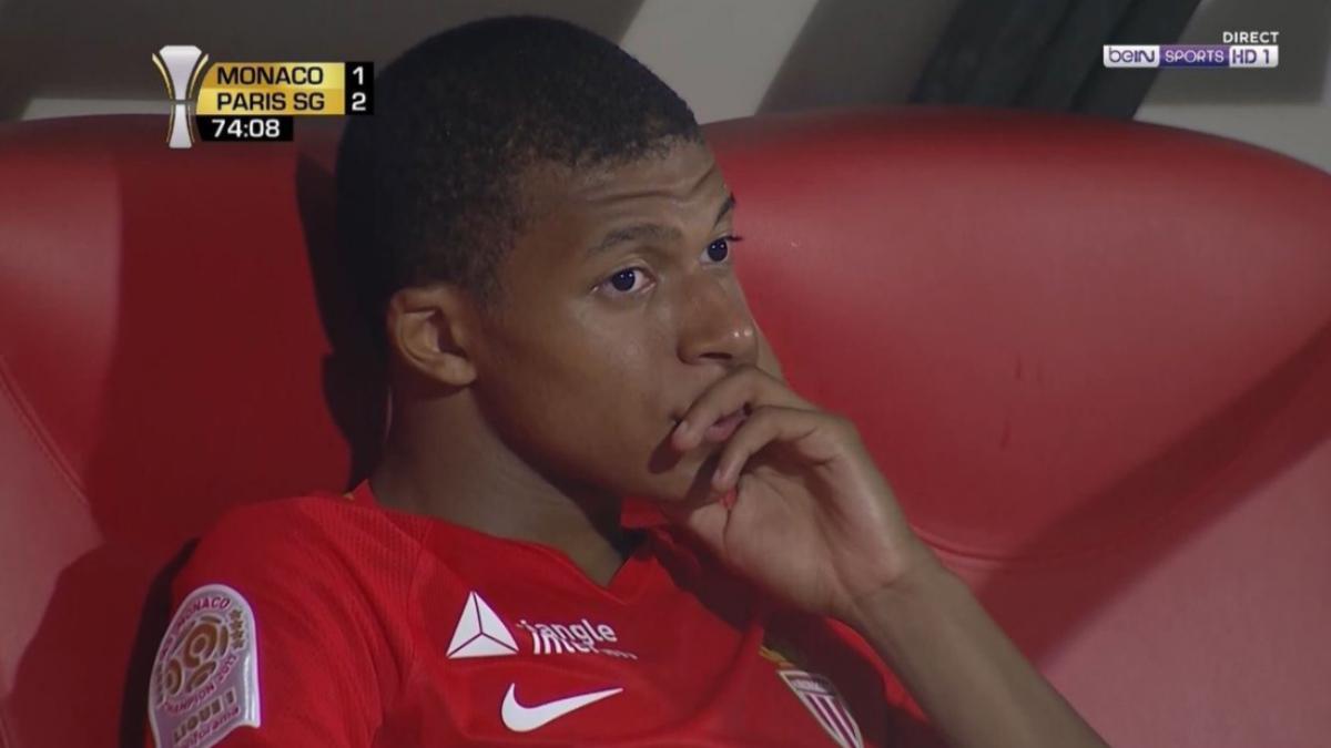 Mbappé decepcionó en su participación en la Supercopa francesa.