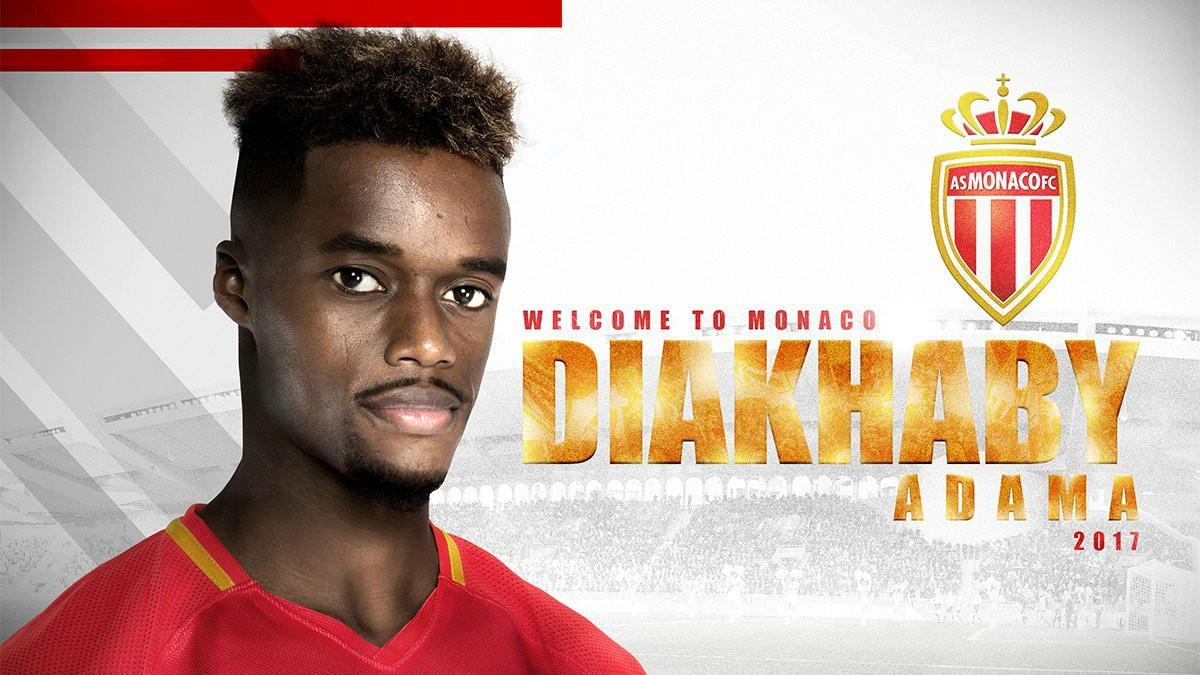 Adama Diakhaby, nuevo jugador del Mónaco. (Twitter)