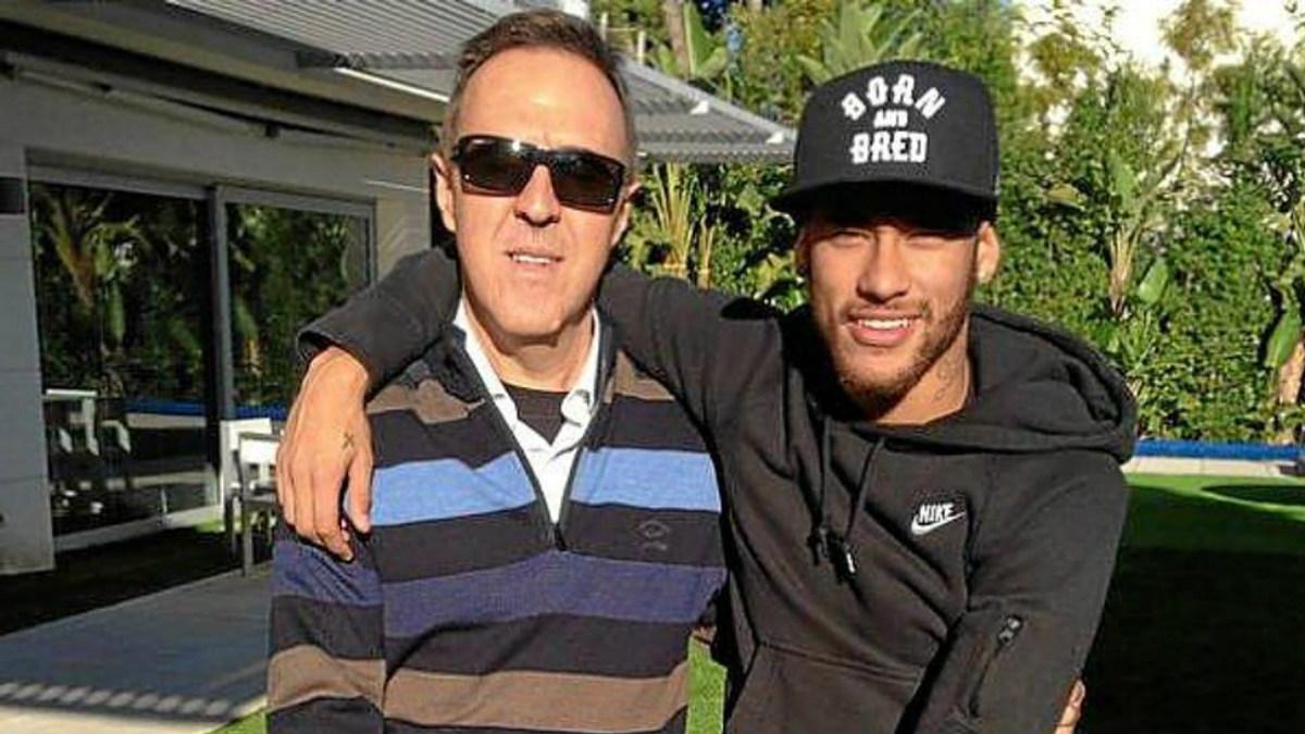 Wagner Ribeiro llevó la representación de Neymar hasta que su padre se la arrebató.