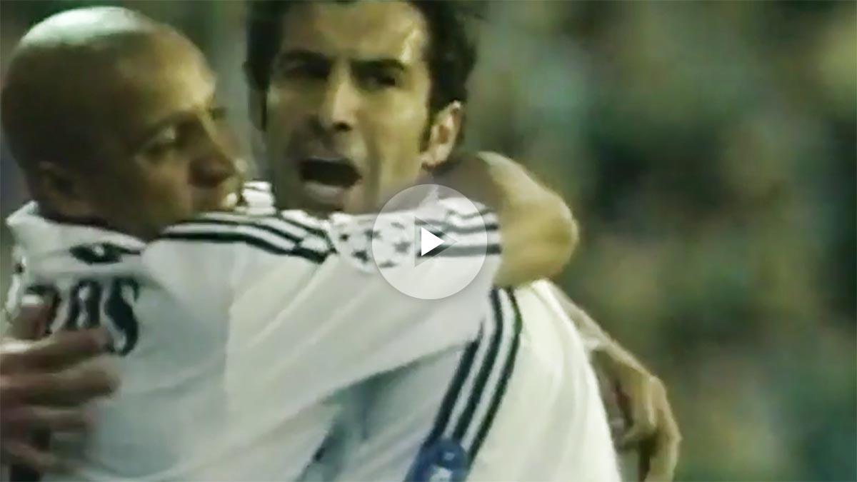 Los goles de 'Play Station' del Real Madrid al United: Redondo, Figo, Ronaldo, Modric, Cristiano…