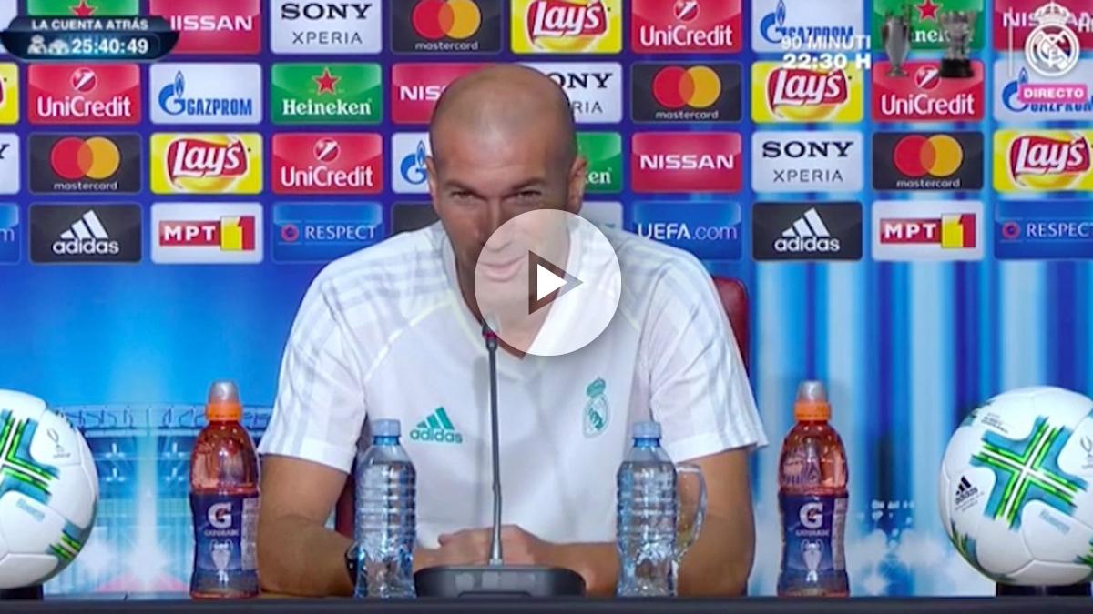 Zidane: «Cristiano está para jugar»