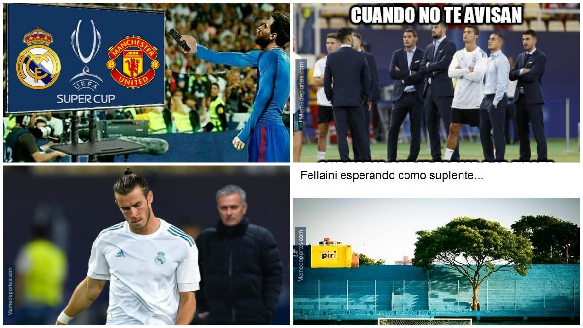 Los mejores memes del Real Madrid Vs Manchester United de la Supercopa de Europa.