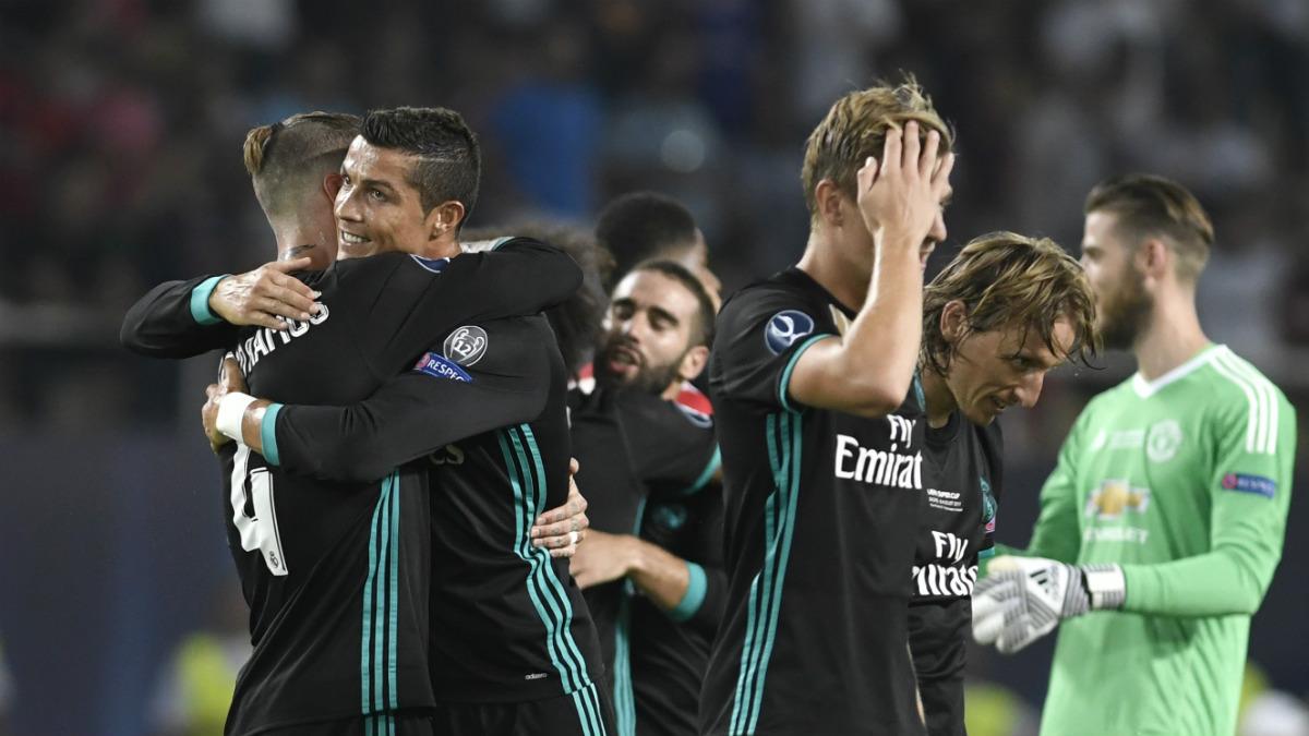 El Real Madrid de Zidane sigue haciendo historia. (AFP)