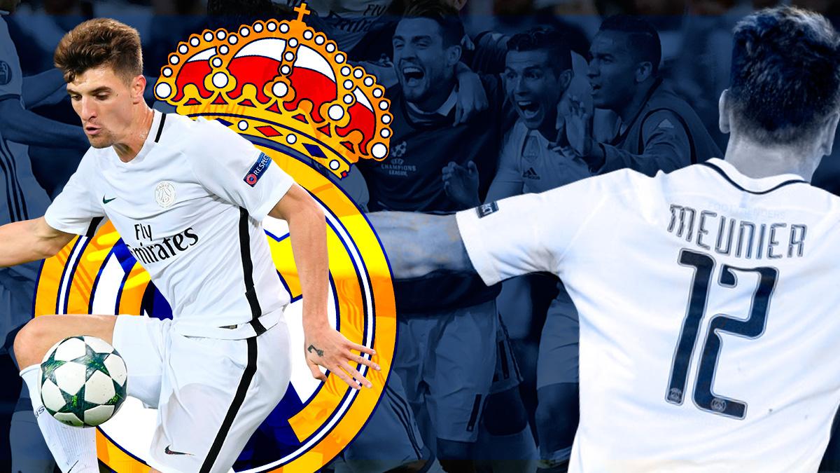 Meunier presiona para ir al Real Madrid