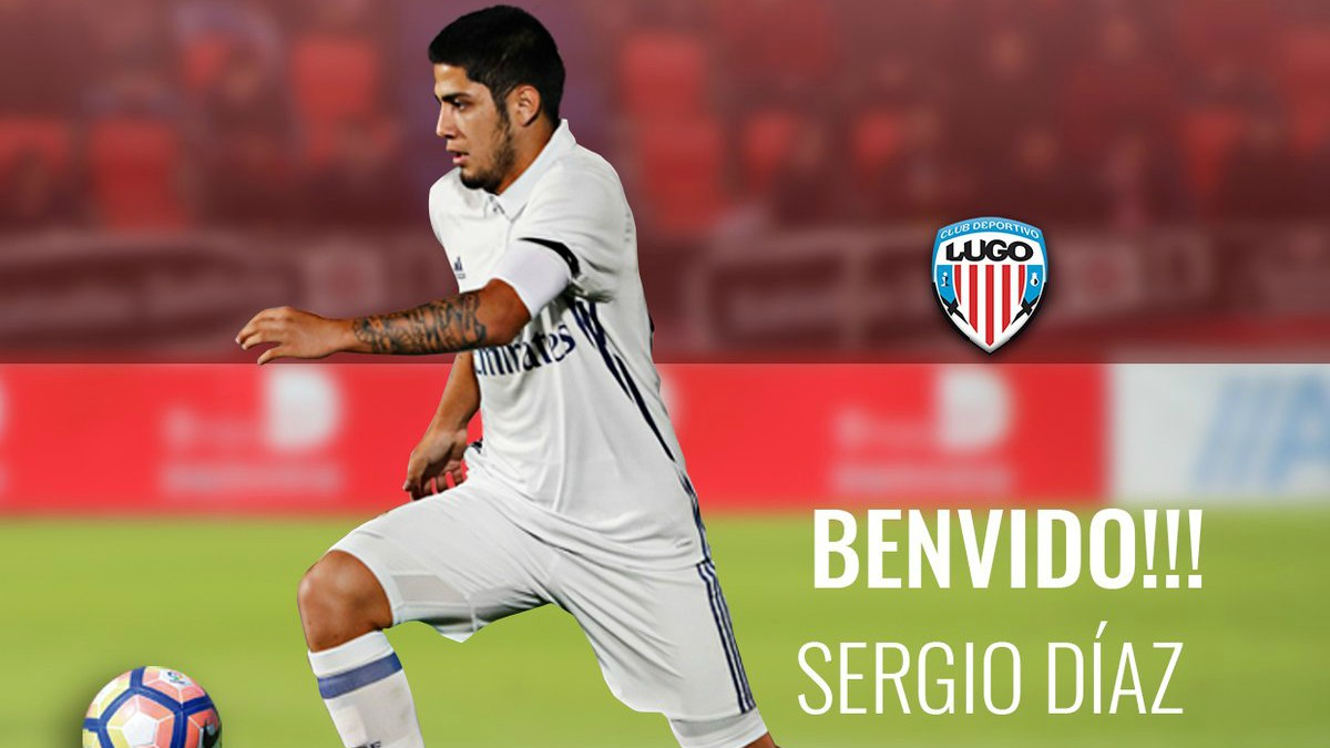 Sergio Díaz, nuevo jugador del Lugo.