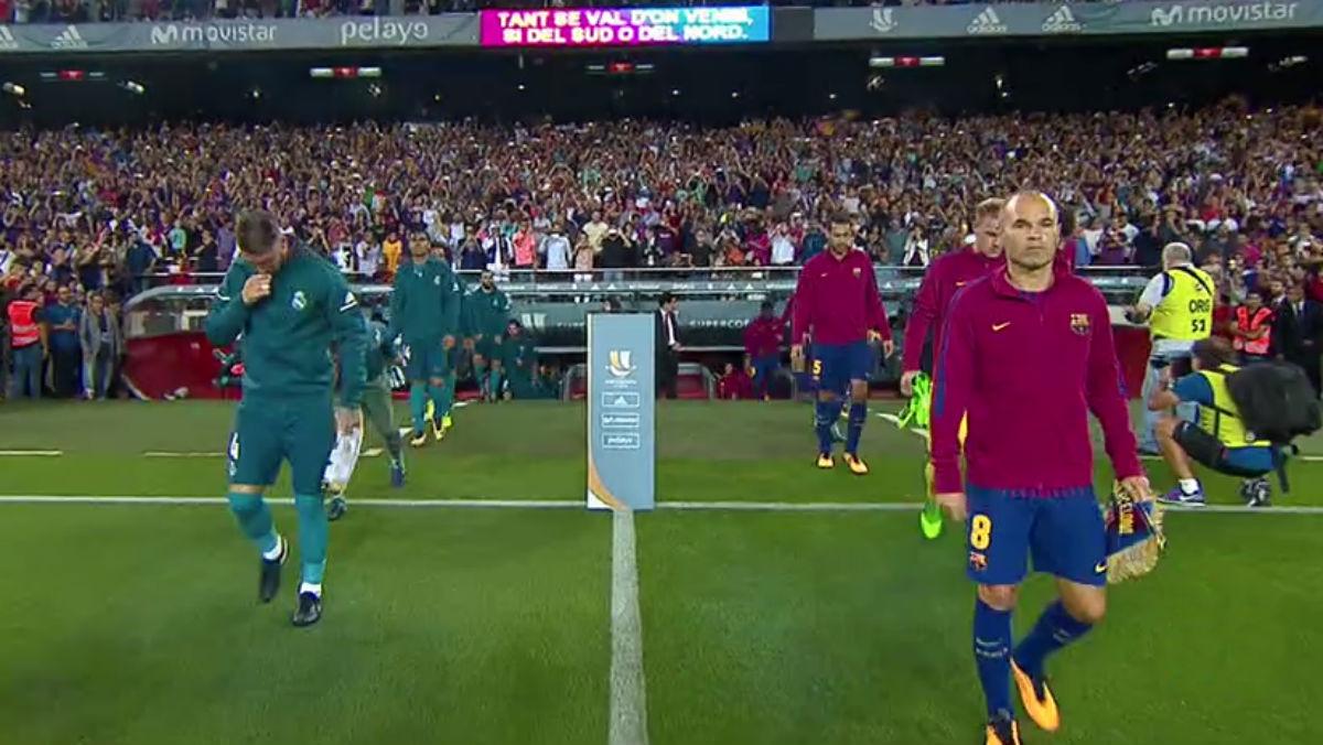 El Barça no hizo pasillo al supercampéon de Europa.