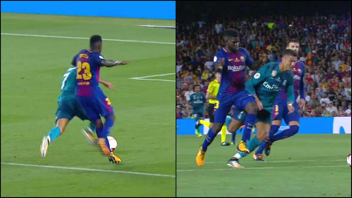 Cristiano no simuló penalti en ningún momento.