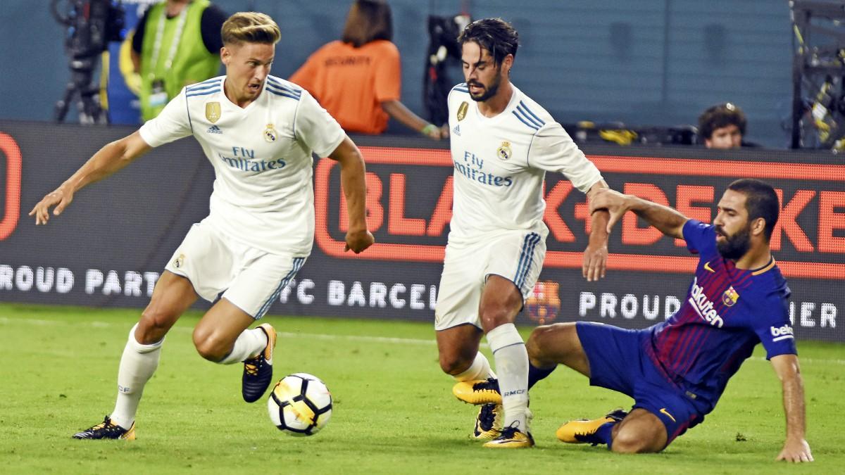 Marcos Llorente puede ser titular ante el Levante. (AFP)