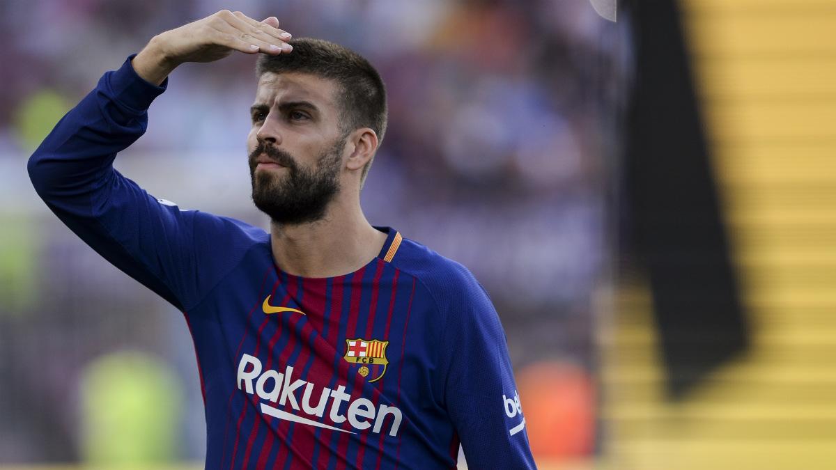 Gerard Piqué está desorientado en la situación actual del Barcelona.