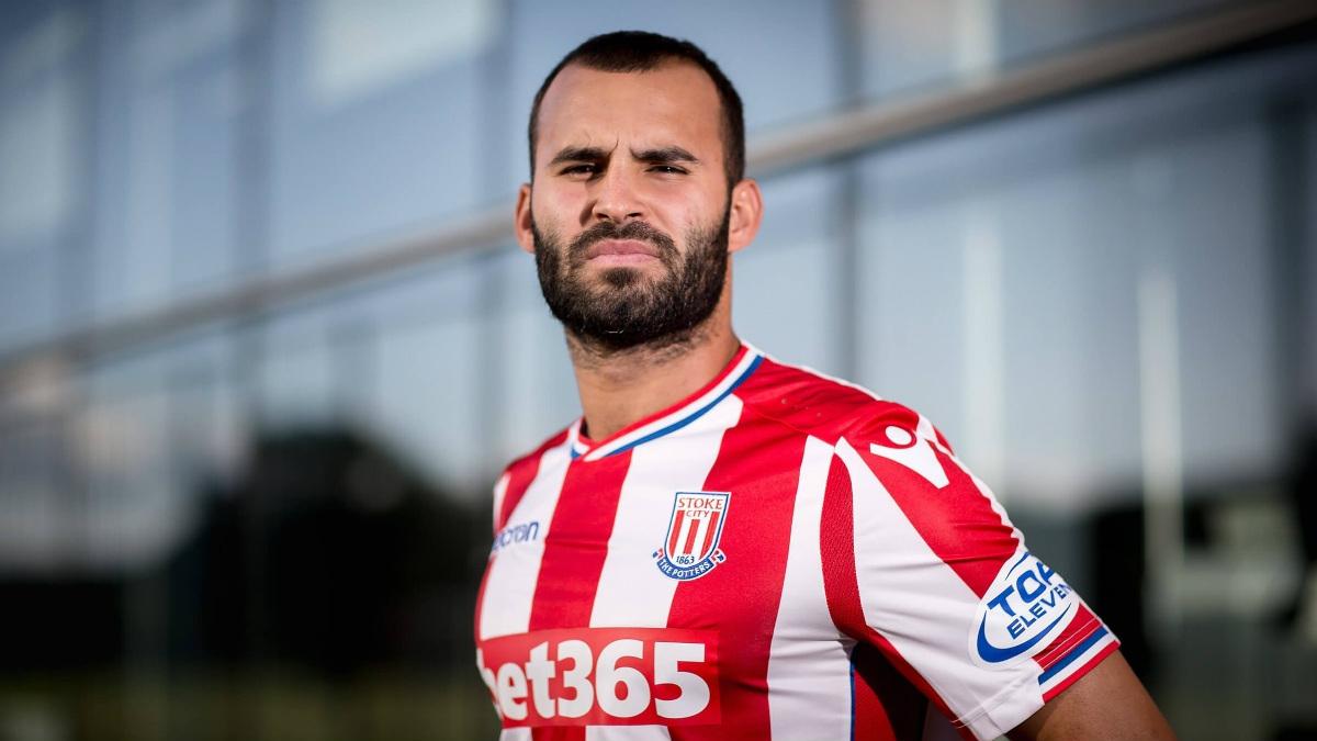 Jesé Rodríguez se ha convertido en el fichaje estrella del Stoke City.