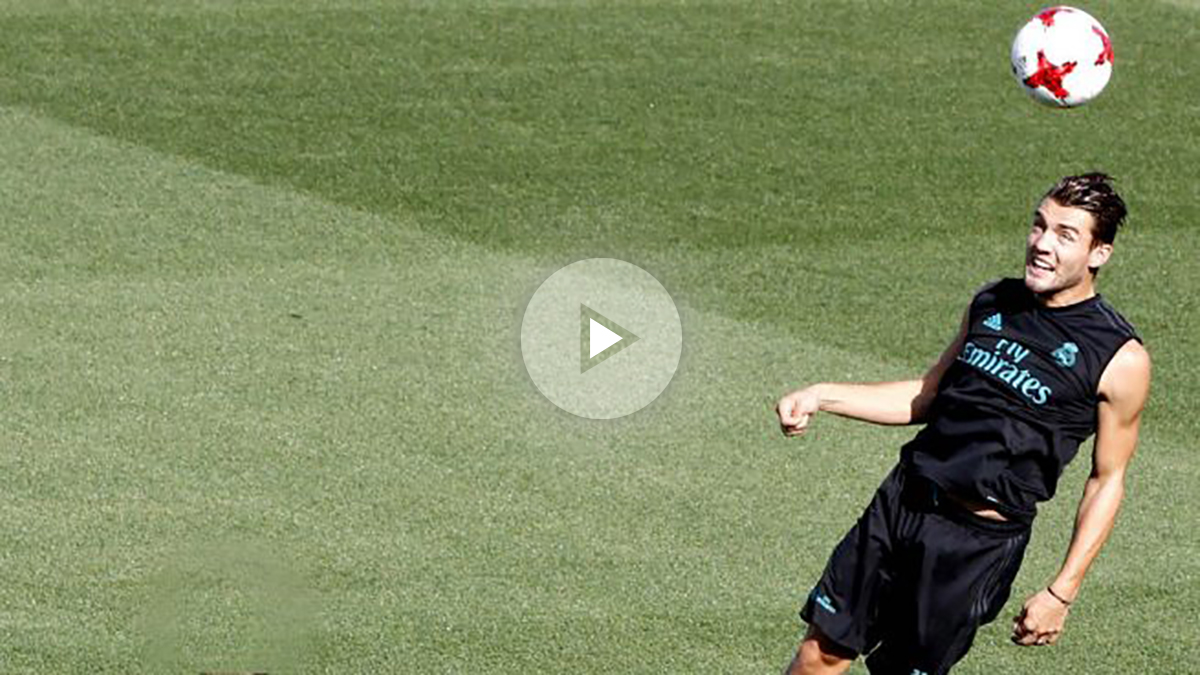 Mateo Kovacic, en un entrenamiento del Real Madrid. (EFE)