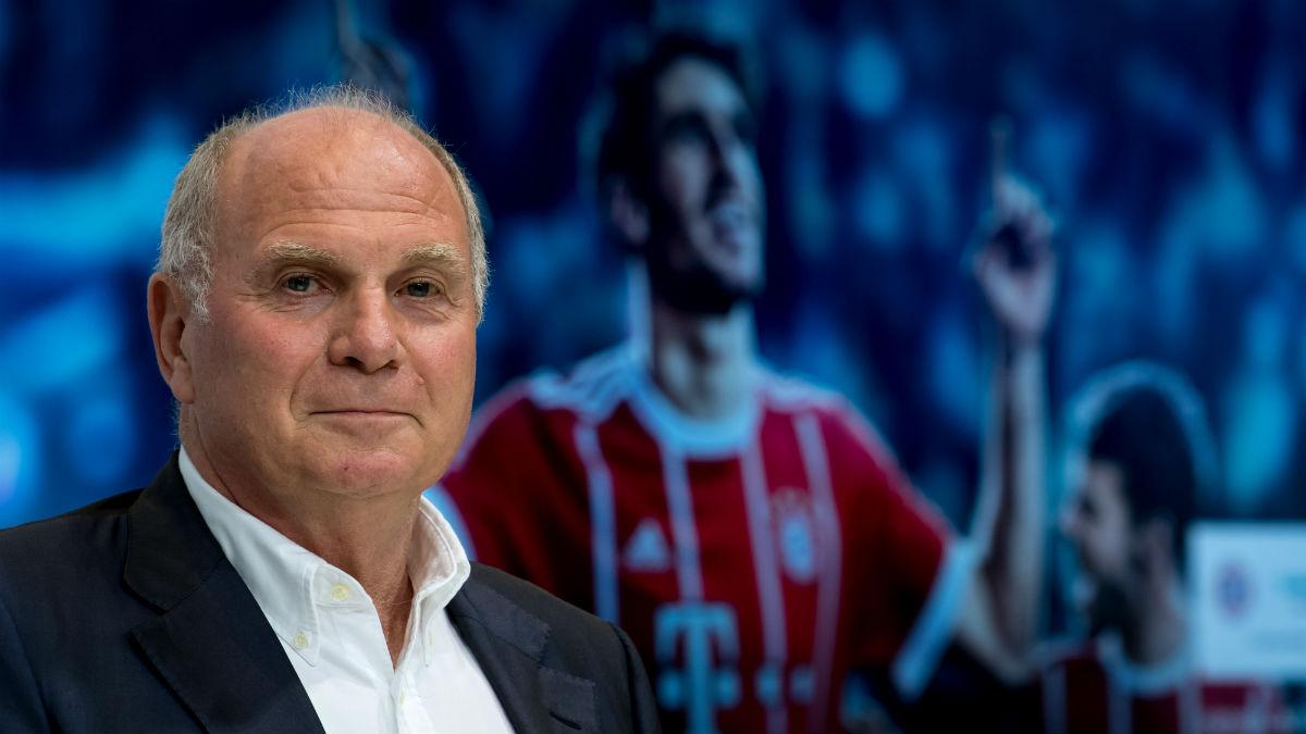 Uli Hoeness critica al Barcelona. (AFP)