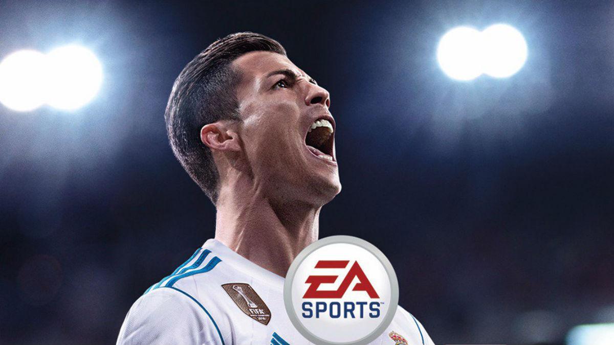 Portada definitiva del FIFA 18 con Cristiano Ronaldo.
