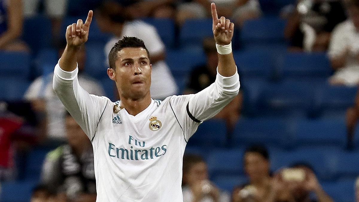 Cristiano Ronaldo vuelve el miércoles en Champions. (EFE)