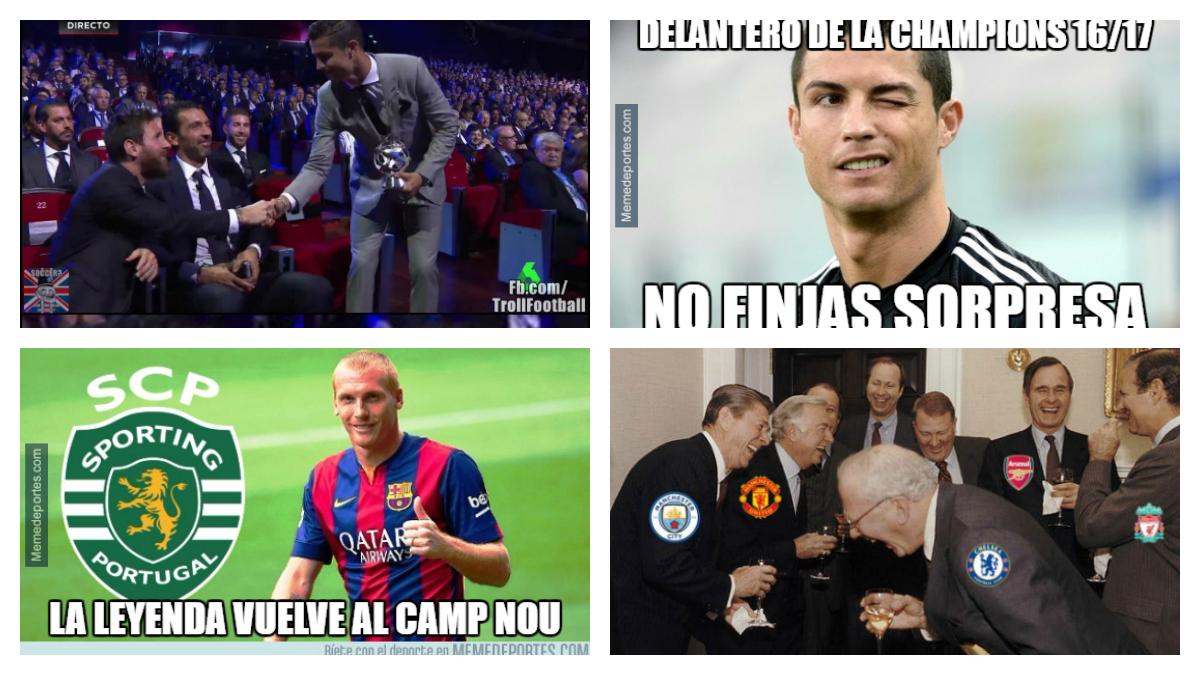 Los mejores 'memes' del sorteo de la fase de grupos de la Champions League 2017/18.