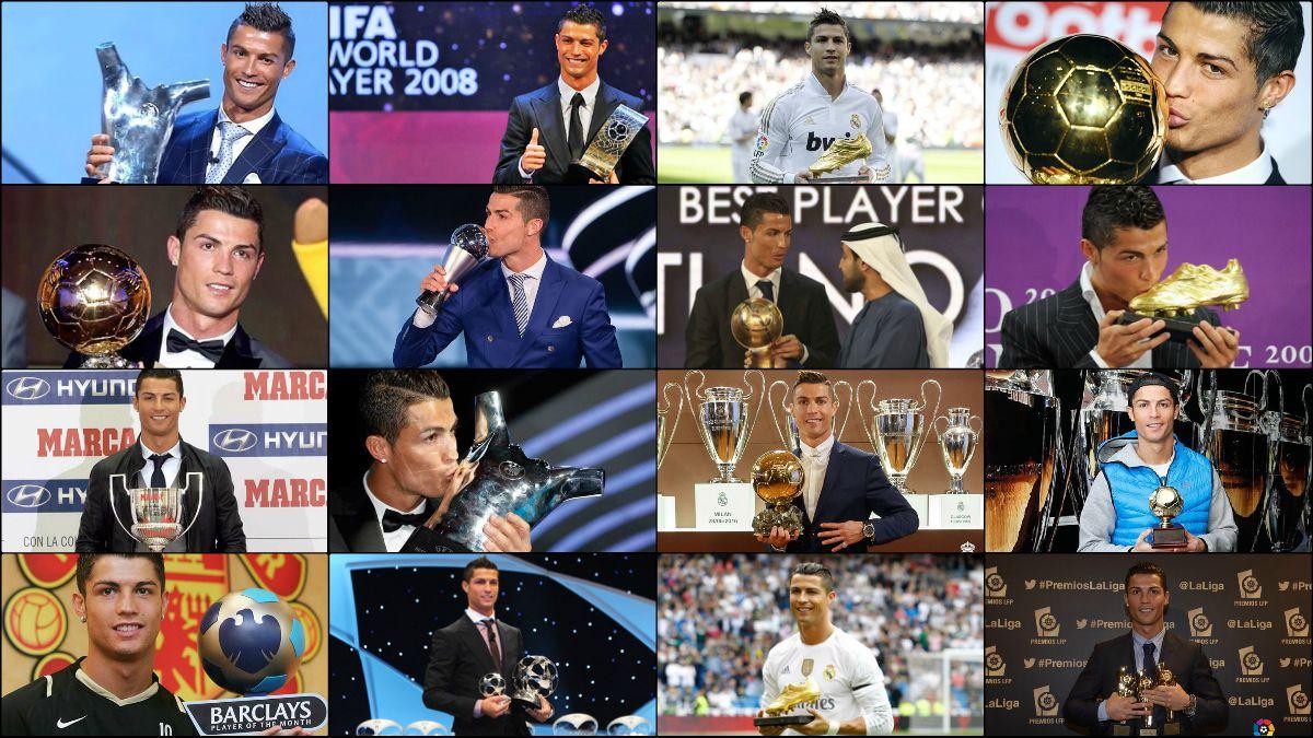 Cristiano Ronaldo no para de coleccionar premios individuales.
