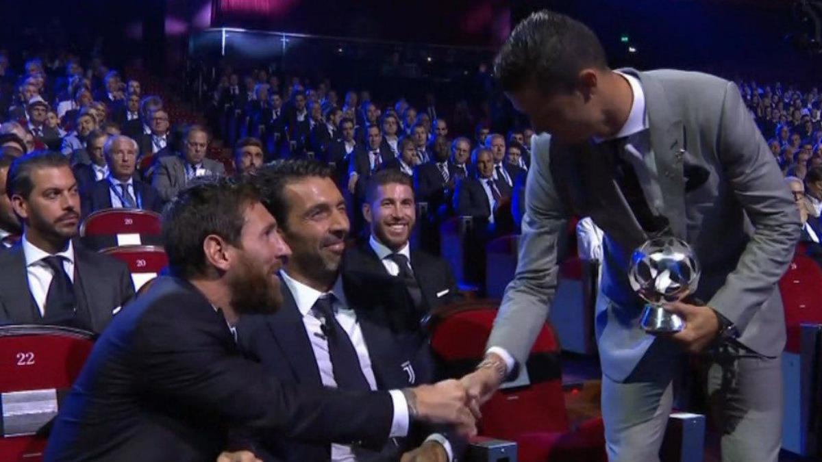Leo Messi se rinde ante la gran temporada de Cristiano Ronaldo.