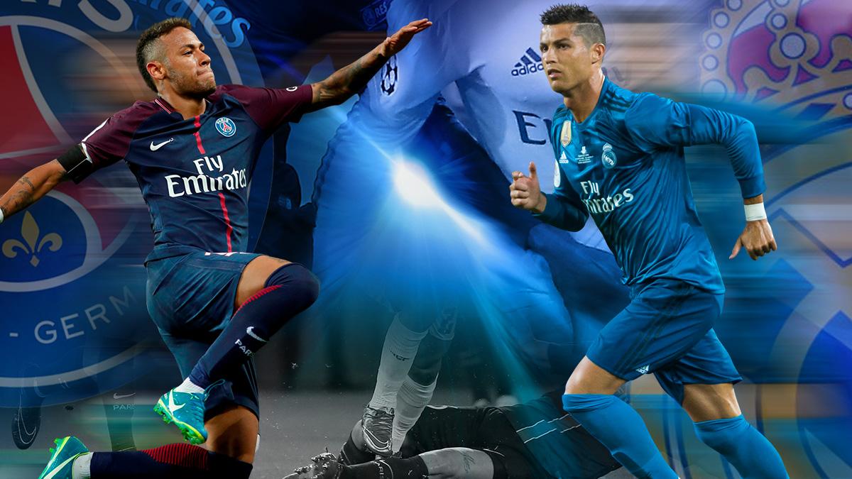Las apuestas ven una final de la Champions Real Madrid-PSG