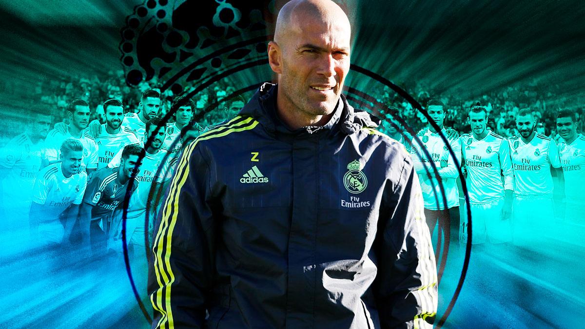Zidane no quiere que la euforia se apodere de su equipo.