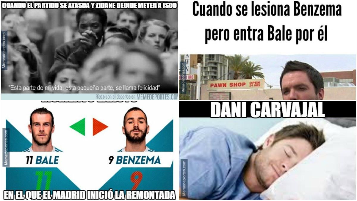 Los mejores memes del Real Madrid-Levante.